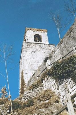 Particolare della torre.