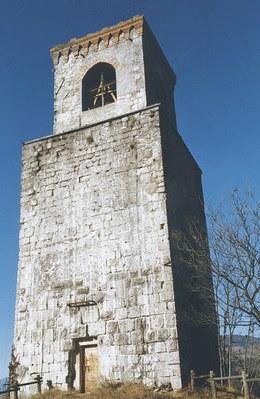 Veduta della torre di Castelnuovo.