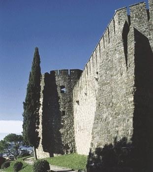 Veduta del castello.