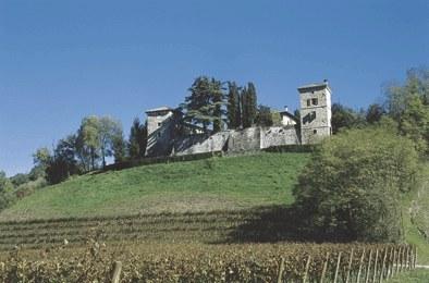 Panoramica del castello.