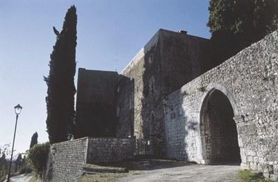 Veduta di Castel d'Aviano