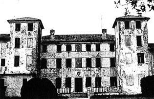 Il palazzo in una immagine della prima metà del secolo XIX.