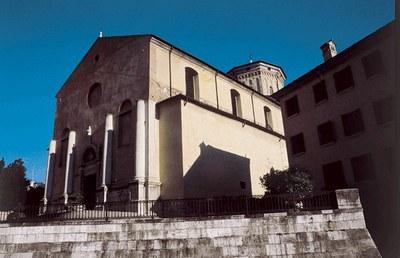 Veduta del duomo di San Marco del XIII secolo in stile tardo-gotico.