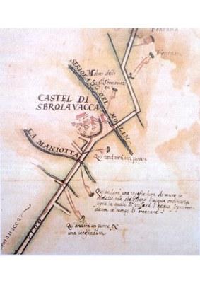Mappa del 1672 (Venezia archivio di Stato)