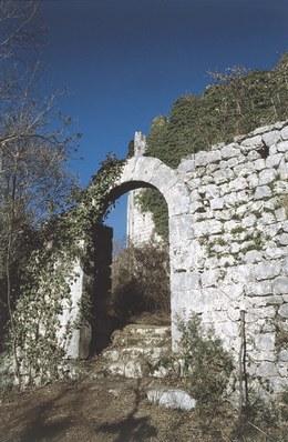 Resti del castello.
