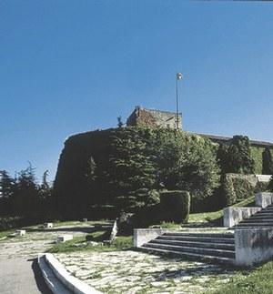 Vista d'insieme del castello