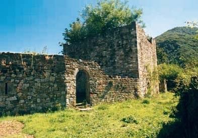 Panoramica verso la torre di Attimis inferiore
