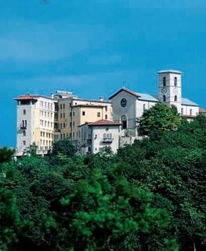 Panoramica di Castelmonte.