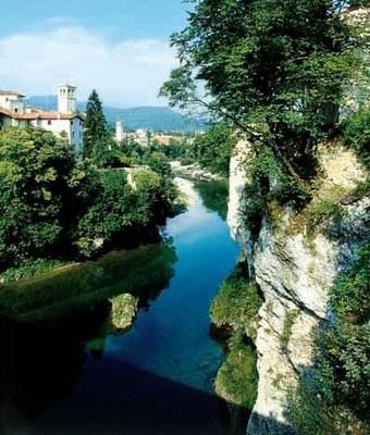 Panoramica verso il fiume.