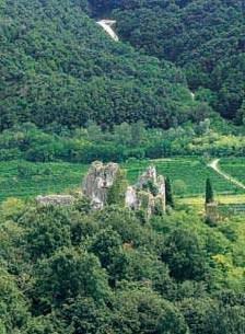 Vista di Cucagna dal sito di Zucco.
