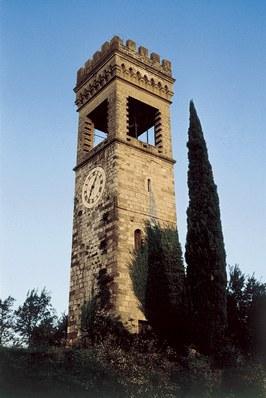 """Antica torre rimaneggiata detta """"dell'orologio"""""""