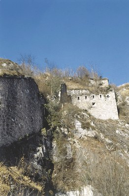 Malborghetto, particolari di Forte Hensel.