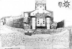 Disegno dell'antico castello.
