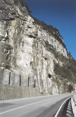 Il punto in cui sorgeva il forte La Chiusa.