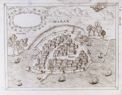 Pianta storica di Marano.