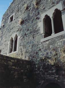 Facciata del palazzo principale.
