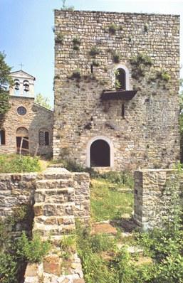 Veduta del sito castellano