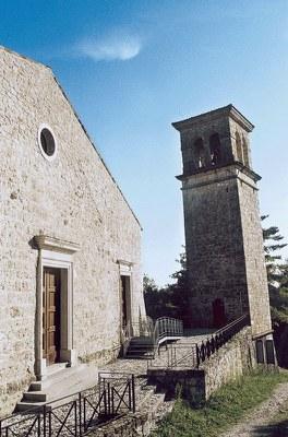 Facciata della chiesa di S. Pietro in castello (1247)