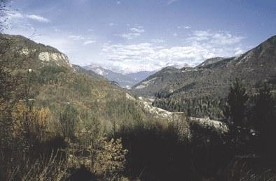 Panorama sul Degano.