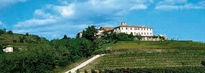 Panoramica dell'abbazia di Rosazzo.