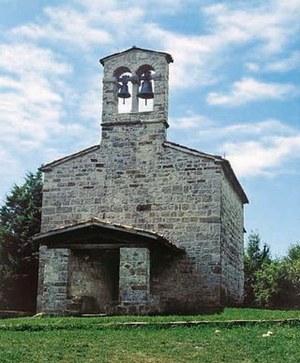 La chiesa castellana di San Rocco.
