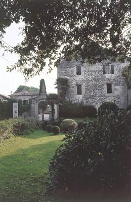 Strassoldo di Sotto, entrata al complesso castellano.