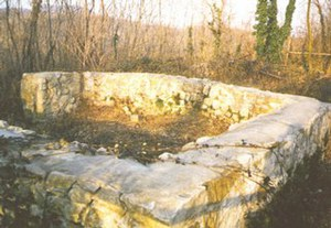Resti murari del fortilizio