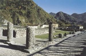Il foro di Julium Carnicum.
