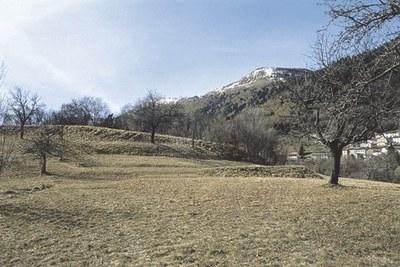 Sito ove probabilmente sorgeva il castello di Sezza, presso Zuglio.