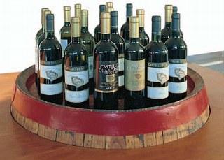 La linea completa dei prodotti enologici dell'Azienda vinicola Arcania