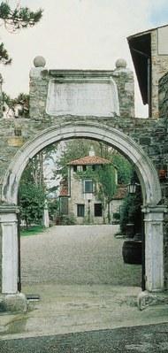 L'ingresso dell'Azienda Vinicola