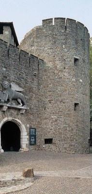 Particolare del complesso fortificato