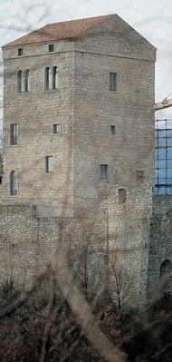 Veduta del complesso castellano