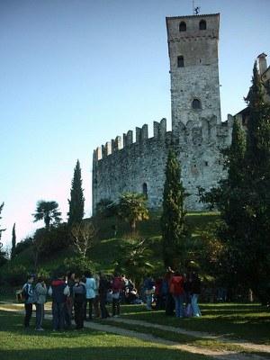 Una visita didattica al castello di Villalta